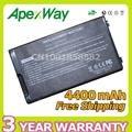 Apexway 4400 mah da bateria do portátil para asus a32-f80 f80cr f80s f81 F81E F81Se F83V F83T F83S F83 F83Cr F83E F83Se K41 K41VD