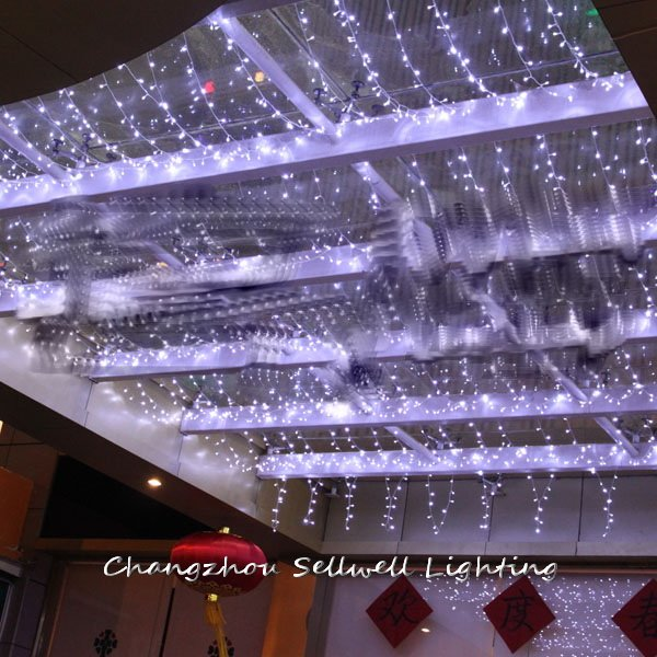 2017 Rushed Top Fashion Christmas Tree Christmas Gift New!christmas Lighting Hotel Decoration 4*4m Led Lamp H207  2017 sale real christmas tree christmas gift christmas decorations for home new blue festival wedding hotel led light h003 2