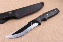 Multi Outdoor Fixed Knife 5CR15MOV Blade Tactical knife Straight Knives Survival EDC Tools High Quality
