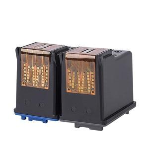 Image 2 - YLC REPUESTOS DE 56XL 57XL Compatible para HP56XL cartuchos de tinta HP56 56XL para HP Deskjet serie 5508, 5510, 5510v 5510xi 5515 C6656A C6657A priter