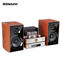 NEW Bluetooth Combined Speaker Output Power 60W Electron tube amplifier Bookshelf HIFI stereo system Column CD DVD Player