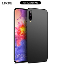 For Cover Huawei P30 Case Ultra Thin PC Slip Protective Hard Fundas 6.1