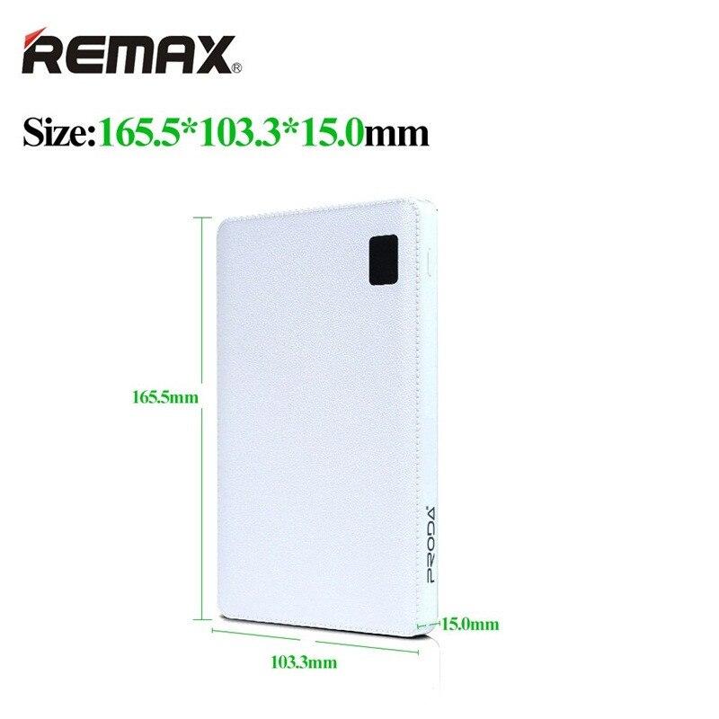 Original Remax 30000 mAh 4 USB Mobile batterie externe chargeur de batterie externe universel pour Huawei iPhone Samsung Xiaomi tablettes - 3