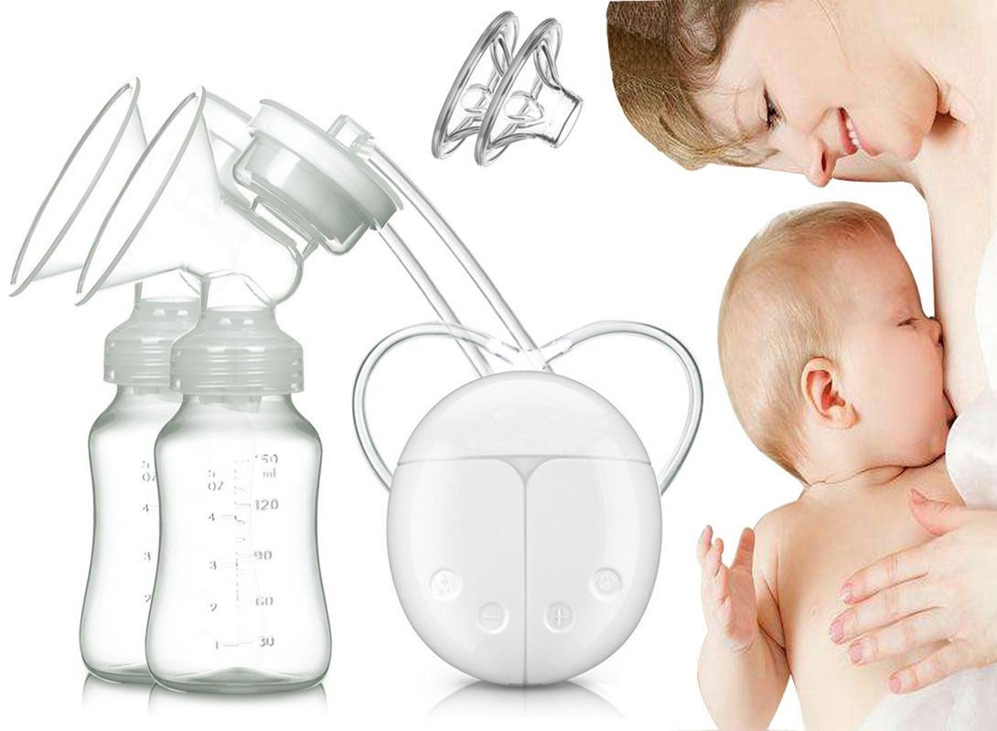 Yooap new single or double electric breast pump powerful nipple suction device USB electric breast pump