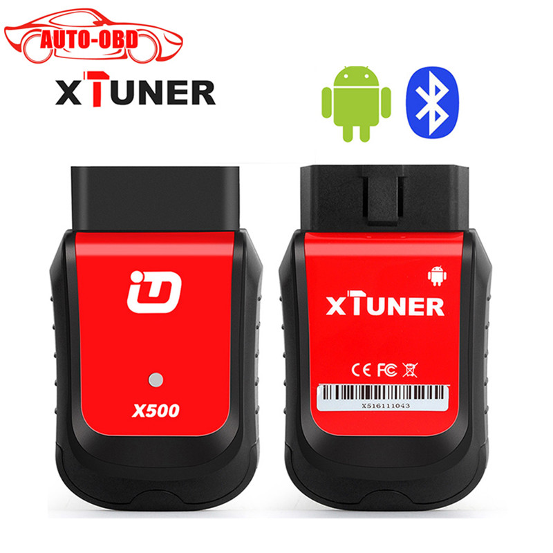 XTUNER X500 EasyDiag Bluetooth Universal Car Diagnostic Tools With ABS SRS Airbag Clear Trouble Code Better than Vp hot new xtuner e3 easydiag wireless obdii full diagnostic tool with special function pefect replacement for vpecker easydiag