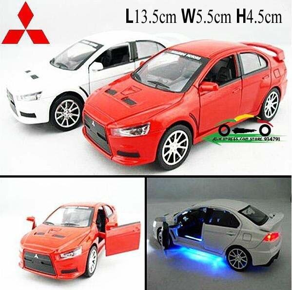 1:32 Mitsubishi Lancer Landcer EVO X Mini Kids Toys Car