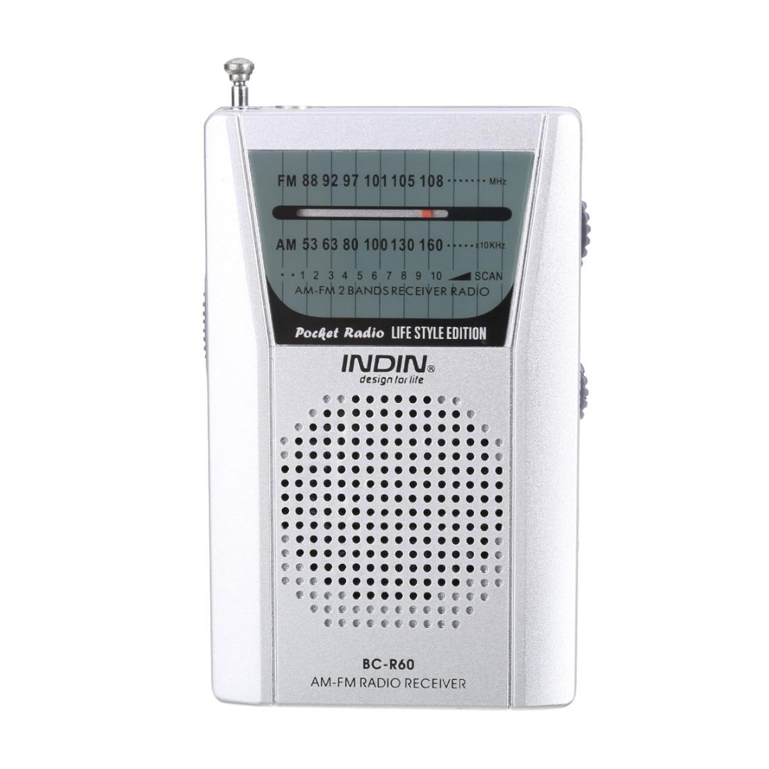 Offizielle Website Mini Tragbare Silber Redio Dc 3 V Pocket-am Fm Radio Lautsprecher Hohe Qualität Teleskop Antenne 3,5mm Kopfhörer Jack Radio Unterhaltungselektronik