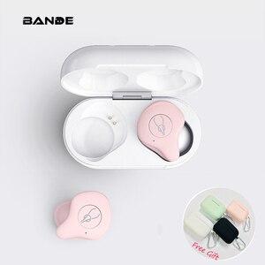 Image 1 - Mini Portátil Sem Fio Bluetooth fone de Ouvido Para O Telefone Inteligente