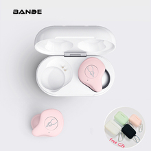 Mini auriculares Bluetooth inalámbricos portátiles para teléfono inteligente
