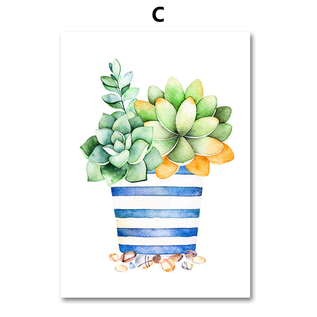 AFFLATUS-Cactus-Succulent-Plant-Canvas-Painting-Nordic-Poster-Wall-Art-Prints-Watercolor-Wall-Pictures-For-Living.jpg_640x640 (2)