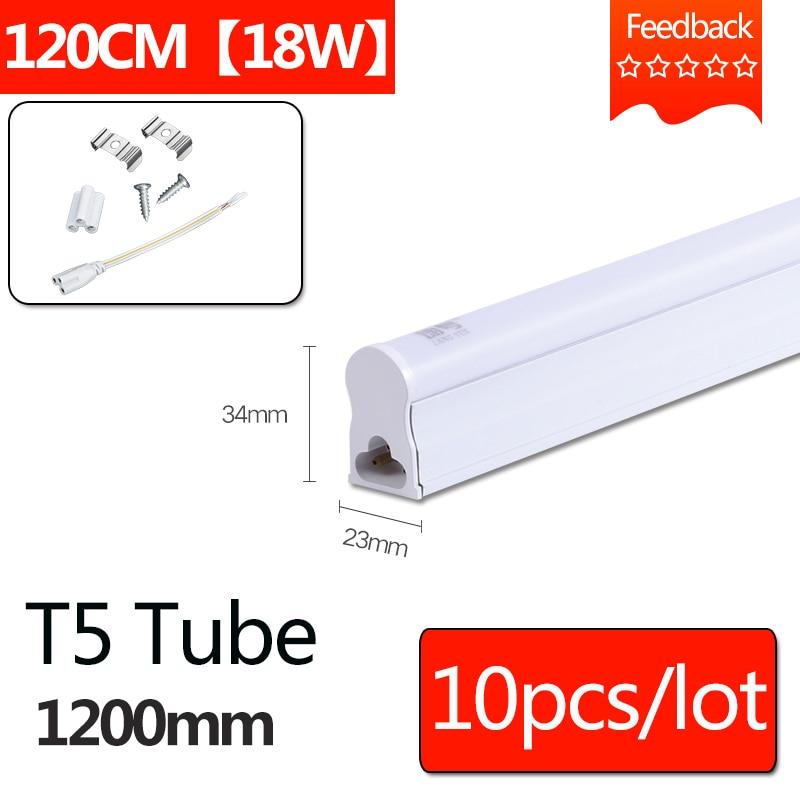 T8 LED Tube Light 1200mm 220V 4ft 1 2M T5 Led Tube Lamp 18W Integrated Wall
