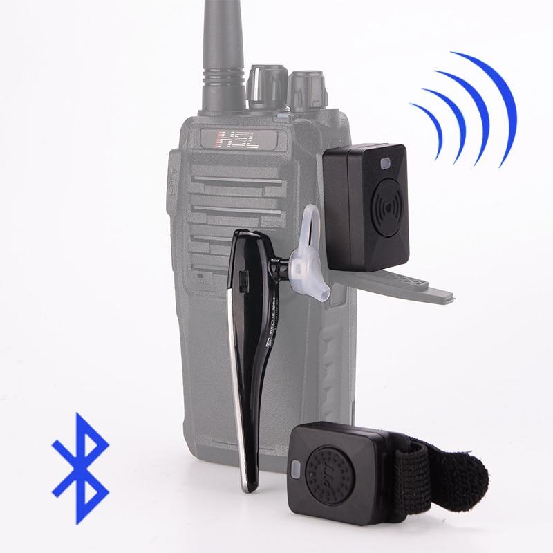 Walkie Talkie Hands-free Bluetooth Headset K Type Earphone Handheld Two Way Radio Wireless Headphones For Motorcycle Car Baofeng