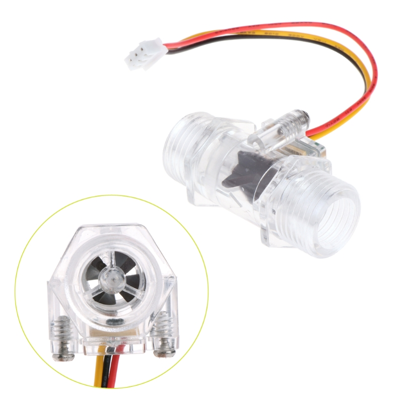 OOTDTY Water Flow Sensor Switch G1/2