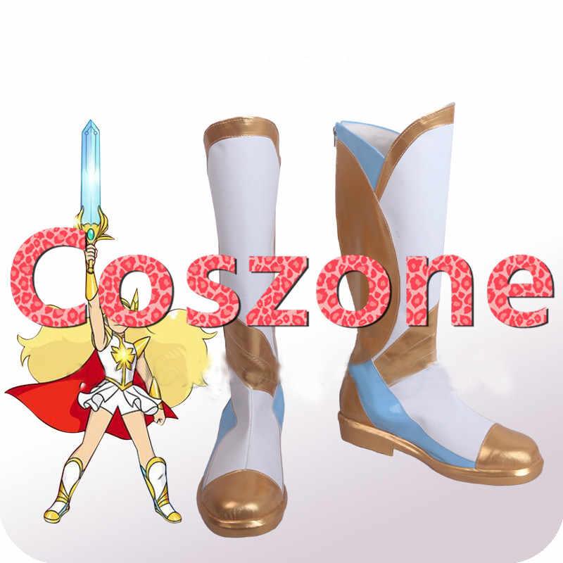 She-Ra: Принцесса силы She-Ra косплей обувь сапоги Хэллоуин Косплей костюмы Аксессуары