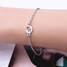2019 New Fashion Jewelry 12 Constellations Bracelet Alloy Bracelet Men Woman Silver Color Punk Zodiac Signs Bracelets Gifts(China)