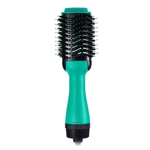 New 2 In 1 Multifunctional Hair Dryer Rotating Brush Roller Rotate Styler Comb Straightening Curling Hot Air