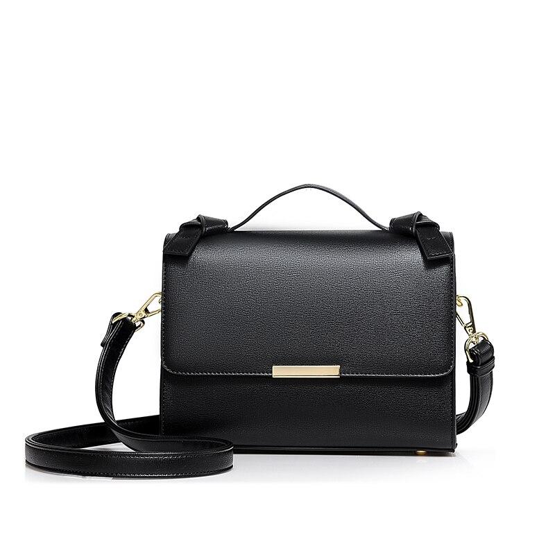 Rabat chaîne sac célèbre marque designer véritable véritable vache en cuir sac femmes épaule sac à bandoulière - 3