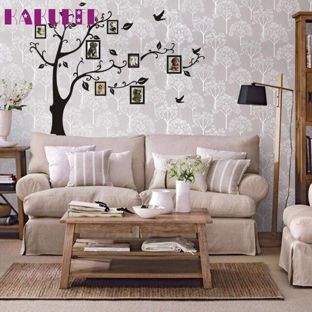 3d diy photo arbre pvc stickers muraux adhsif stickers muraux art mural dcor la maison - Decoration Stickers Muraux Adhesif