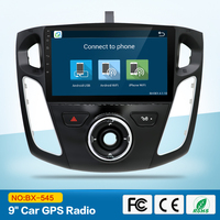 Quad Core1024*600 Android 5.1 Car DVD GPS Navigation Player for Ford Focus 2012 C Max 2011 Radio 3Gwifi steering wheelcontrol