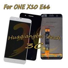 5.5 新 HTC ONE X10 × 10 E66 フル Lcd ディスプレイ + タッチスクリーンデジタイザ国会 + フレームカバー黒/白 100% テスト