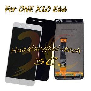 Image 1 - 5.5 ใหม่สำหรับ HTC ONE X10 X 10 E66 จอแสดงผล LCD + หน้าจอสัมผัส Digitizer Assembly + กรอบสีดำ/สีขาว 100% ทดสอบ
