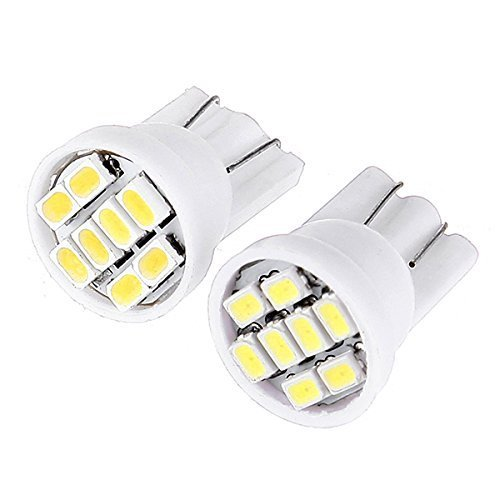 1 piece white led T10 8 smd 8 leds 8SMD 2835 car led 194 158 168 192 W5W 3020smd super bright Auto led car lighting wedge super bright white t10 w5w 50w 10 smd drl led bulb car auto wedge reverse signal light lamp 194 168 hot selling