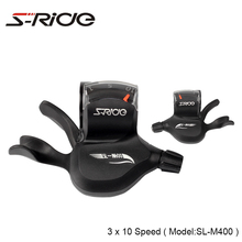 S-Ride Mountain Bike Trigger Shifters 3 x 10 Speed Cycling MTB Shifter Levers Bicycle Derailleur Compatible SHIMANO With Cable цена 2017