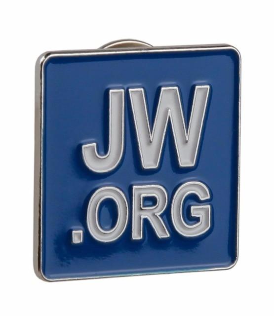 R$ 7 54 37% de desconto Aliexpress com: Compre Jw org Alfinete de Lapela  Azul de confiança pins fornecedores em GuDeke Shop