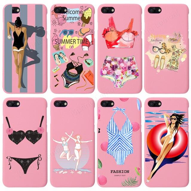 Sfondo Rosa Per Il Iphone 7 7 Più La Cassa Beach Holiday Bikini