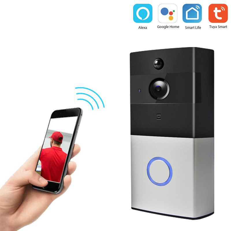 Graffiti Intelligent Wifi Door Bell Network Wireless Video Talk-to-Talk Camera Graffiti Camera