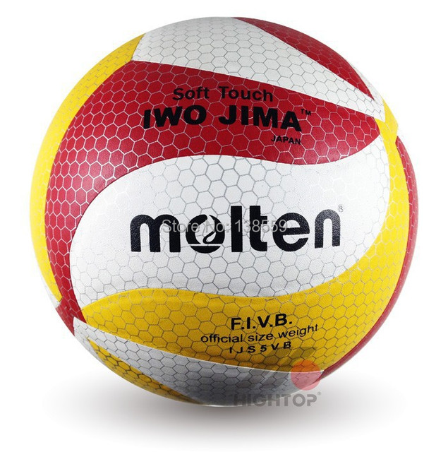 e9ac8c0f918 Brand New Molten Volleyball Official Size 5 18 Panels Synthetic Leather  Material Match Volleyball Ball Free With Net Bag+Needle