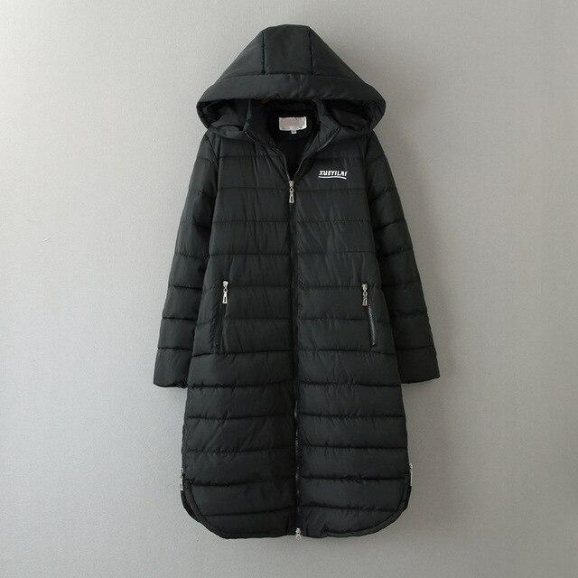 Winter Jacket Women Winter Coat Women Plus Size 5XL Long Parka Cotton-Padded Down Cotton Coats Women Wadded Jackets 10-148G