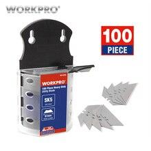WORKPRO оригинальные лезвия сверхмощные лезвия для ножа SK5 стальные лезвия ножа 100 шт./лот