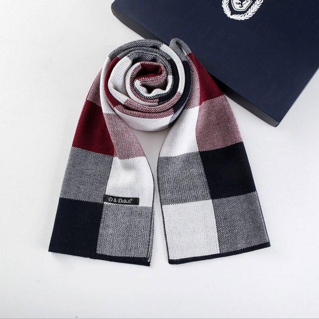 2017 новая коллекция весна зима горячий стиль мужчины шарф полноценно кашемир Британский классический сетка бизнес теплый воротник пары бизнес подарок