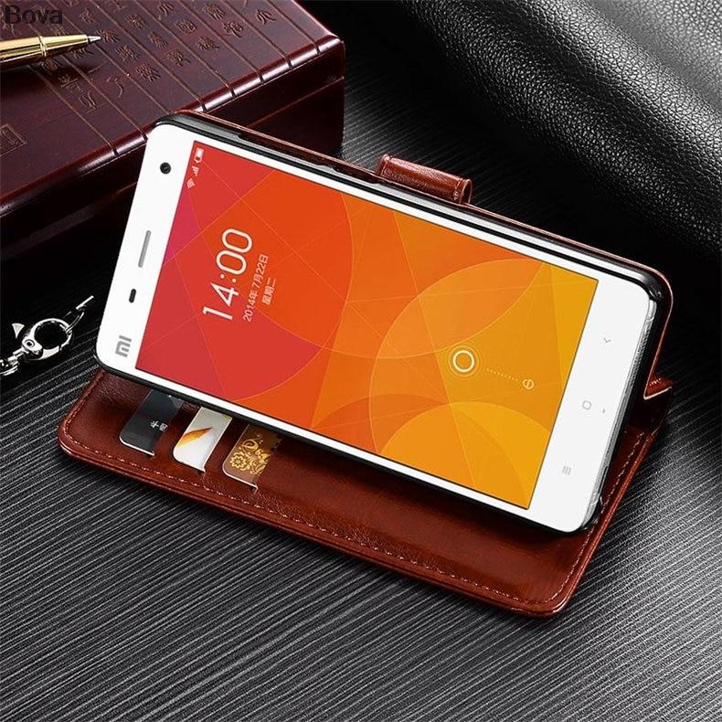 Xiaomi 4 Mi4 korthållare fodral för Xiaomi Mi4 M4 Pu läderfodral - Reservdelar och tillbehör för mobiltelefoner - Foto 4