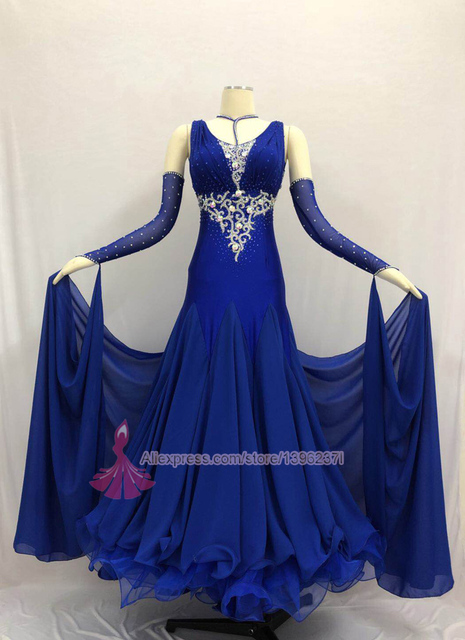 Ballroom Compeion Dance Dress Women High Quality Spendex Flamenco Waltz Tango Dancing Skirt Standard