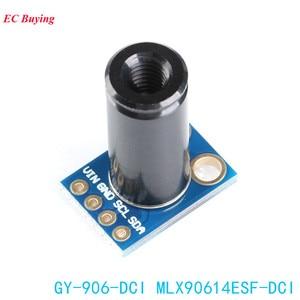 Image 2 - MLX90614ESF DCI Capteur Module MLX90614 Infrarouge Température Capteurs GY 906 DCI IIC Connecteur Longue Distance Électronique DIY PCB