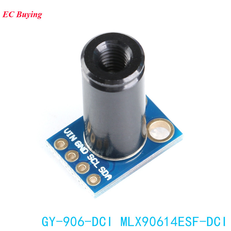 Image 2 - MLX90614ESF DCI Sensor Module MLX90614 Infrared Temperature Sensors GY 906 DCI IIC Connector Long Distance Electronic DIY PCB-in Integrated Circuits from Electronic Components & Supplies