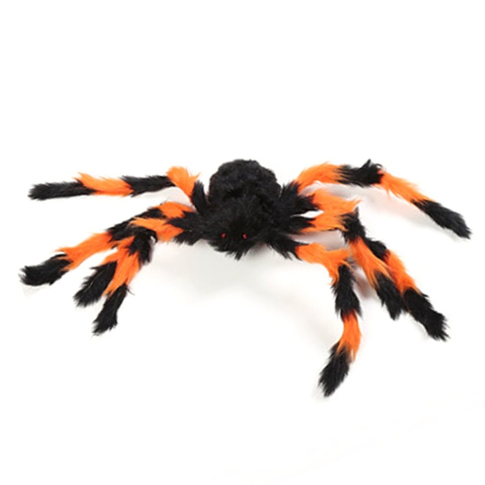 Gags & Practical Jokes Plush Spider For Halloween Decoration Scary Spider Gags Toys Party Haunted House Decorative Supplies Tricky Toy Props Novelty & Gag Toys