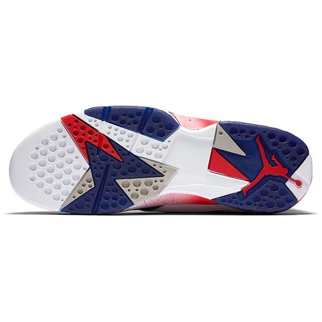 d0de1dd00ff7cd ... Original New Arrival Authentic Nike Air Jordan 7 Olympic Substitute AJ7  Men s Basketball Shoes Sport Outdoor