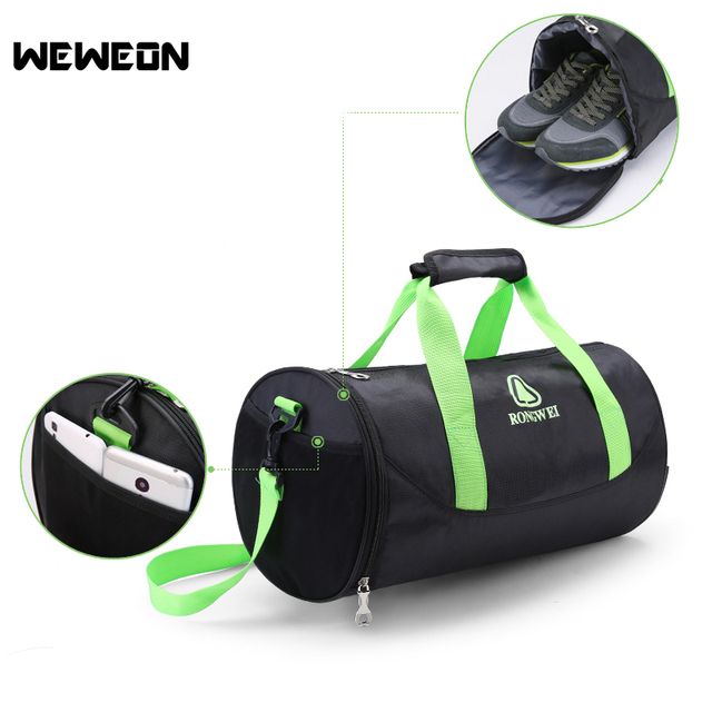 80e3d1cea18 Best Seller Yoga Bag Cylinder Sports Gym Bag for Men and Women Portable Sports  Duffle Handbag with Independent Shoes Compartment