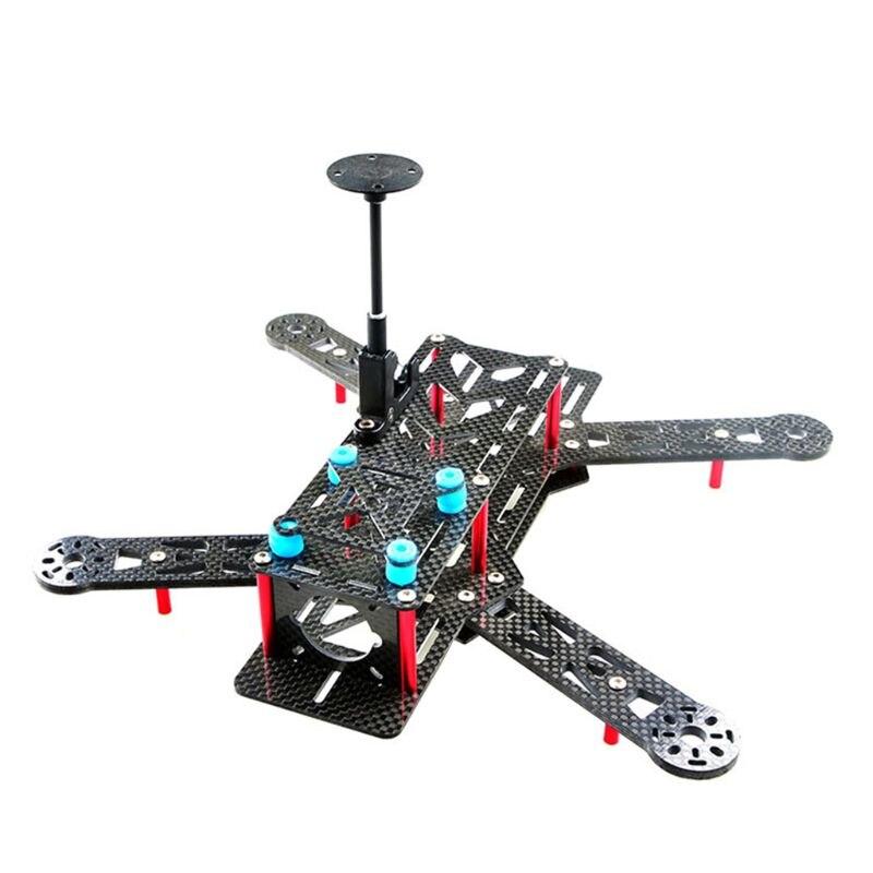 黒プラスチック GPS アンテナマウントスタンド折りたたみシートベース折りたたみブラケットホルダー diy QAV 250 Quadcopter ドローンアクセサリー -