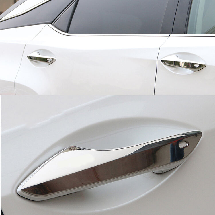 SUS304 Stainlless Steel Door Handle Cover Trims For Lexus RX350 RX450H <font><b>RX200T</b></font> 2016 2017 image