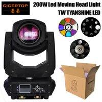 Gigertop TP L660 200W Led Moving Head Light DMX512 SOUND AUTO Master Slave Control 6 18