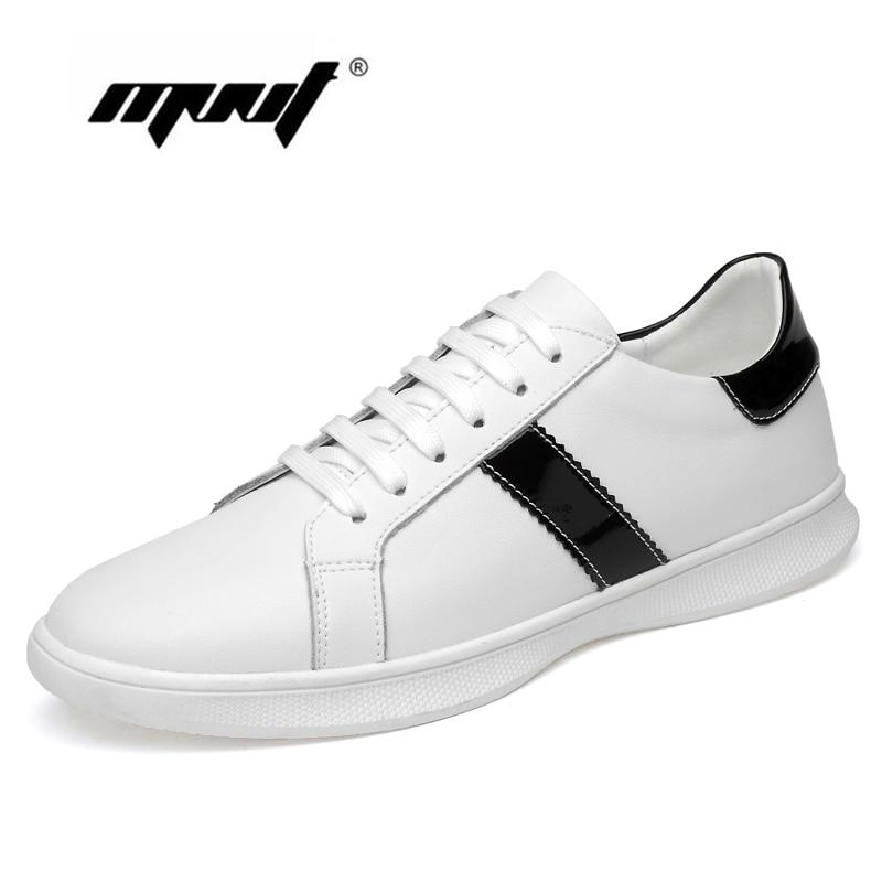 Até Sapatos Dos Sapatilhas Rendas De Homens Casuais Qualidade Couro Moda Da Alta Flats Preto Genuíno branco Confortável Macio E 40nCdFwqg