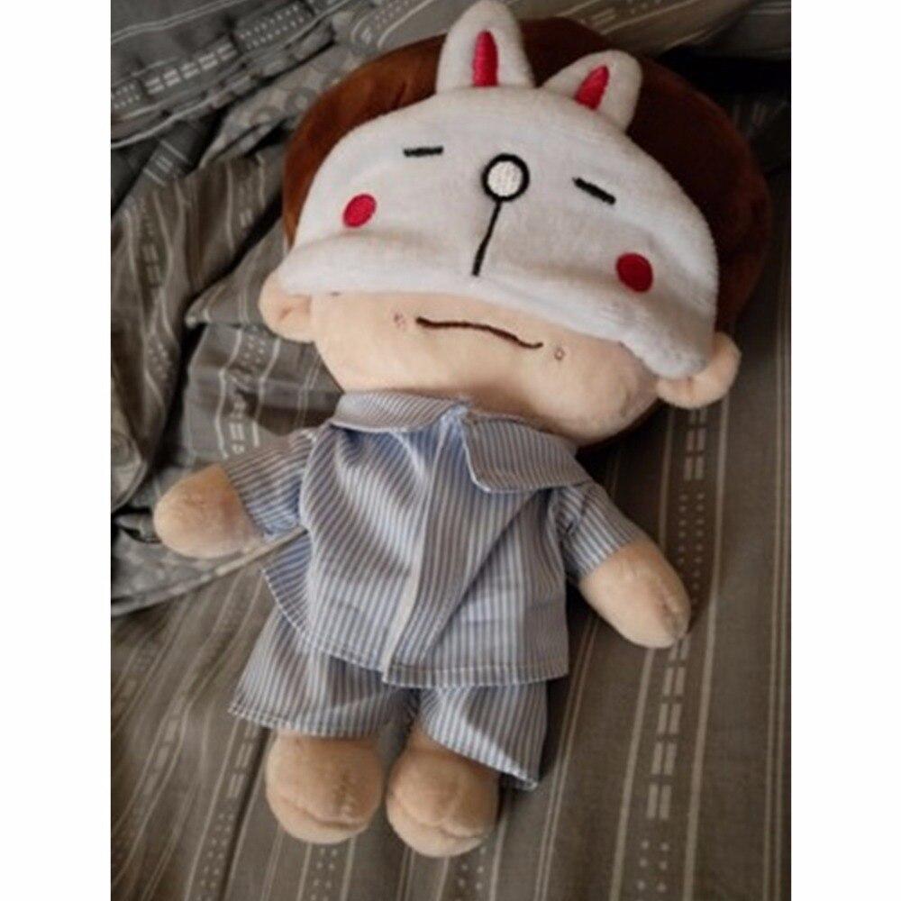 Kpop Bts Bangtan Boys Jung Exo Clothes Fan Plush Toy Cosplay Dolls