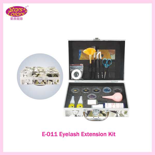 2016 New hot Wholesale False Eye Lash Eyelash Single-Deck Grafting Eyelash Extension Kit Full Set with Case For Make-up Beauty high end eyelash face make up 822 eyelash for lady 1pair