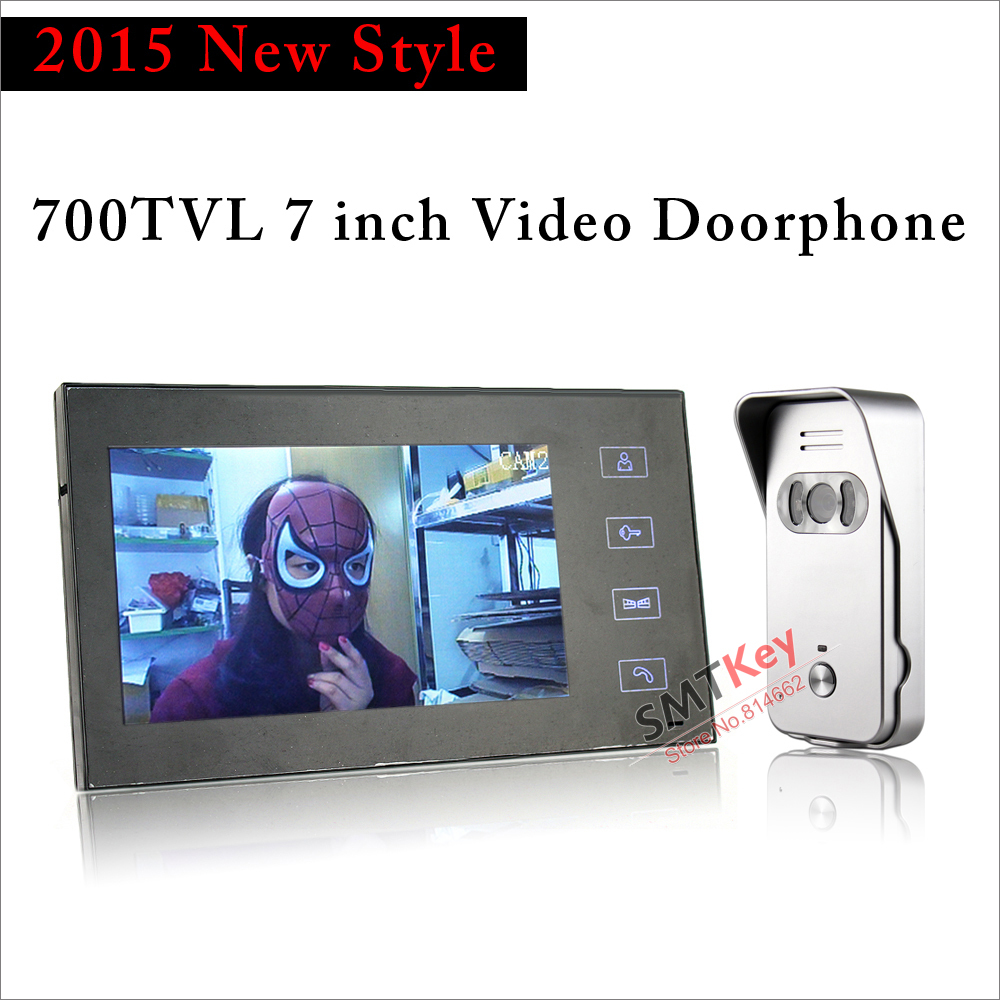 700tvl outdoor camera 7inch color vdeo doorphone touchpad button intercom Night Vision Outdoor Unit700tvl outdoor camera 7inch color vdeo doorphone touchpad button intercom Night Vision Outdoor Unit