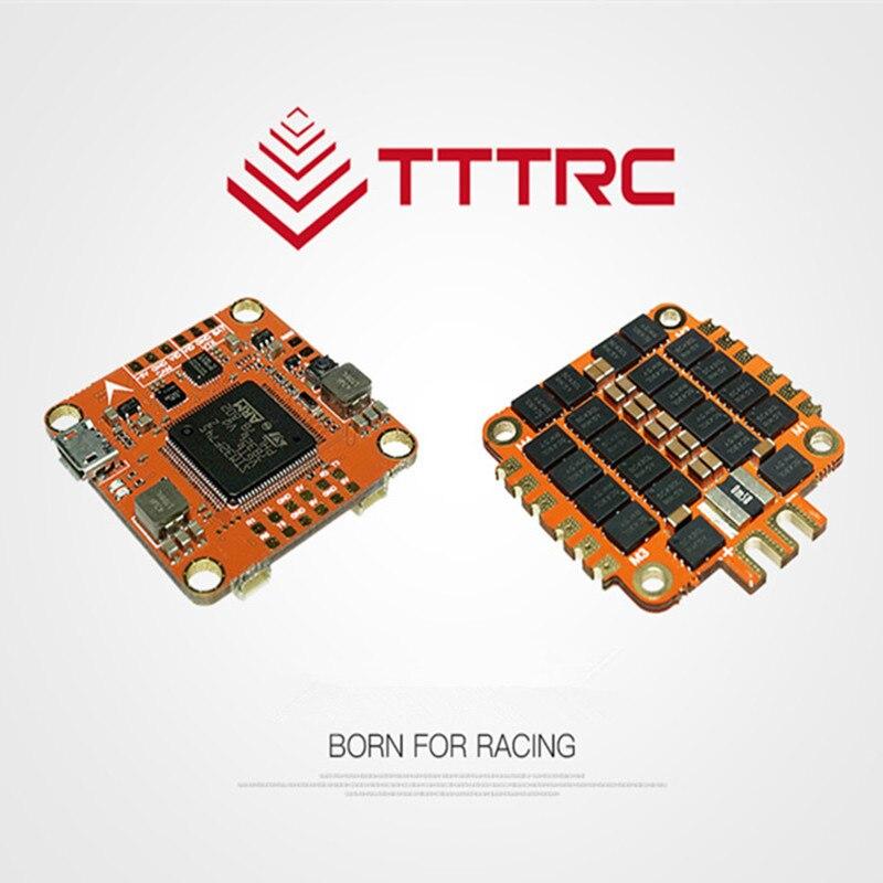 TTTRC F7 V1.0 contrôleur de vol et 50A 3-8 S ESC sans balai intégré OSD/BEC double commande de vol gyroscopique pour RC modelos Racing FPV