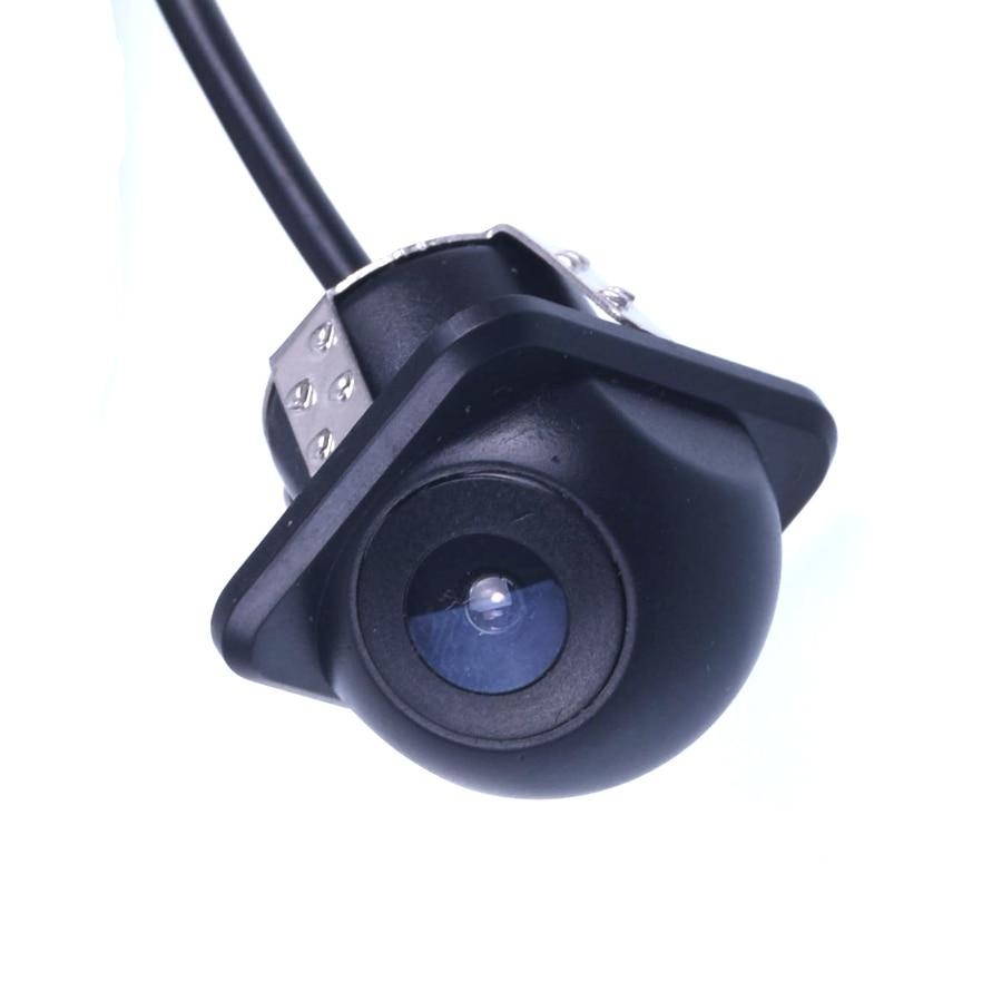 Waterdichte Wide Angle HD CCD Auto Achteruitrijcamera met Spiegel - Auto-elektronica
